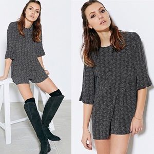 Cooperative Urban Outfits Polka Dot Romper